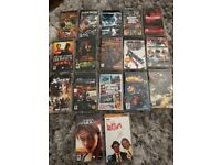 Bundle of 16 x PSP games for sale