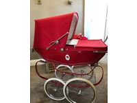 Silver cross pram and real life baby doll