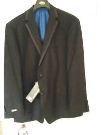 Black tuxedo suit.- new