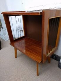Antique 70s TV cabinet