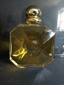 Perfume Bottles, large glass collectables X 4
