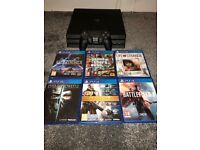 ***WANTED PS4 PS 4 PLAYSTATION PLAY STATIONWITH GAMES ***