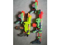 Nerf Guns ( with Discs)