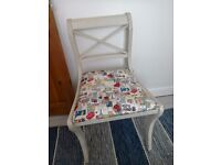 Upcyled shabby chic chair