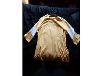 1/2 length ASOS T-Shirt Yellow/White