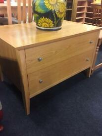Oak drawers / TV unit