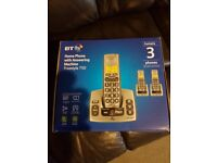 Set of 3 house phones