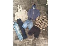 Boys next clothes bundle - 7 Items - Age 6