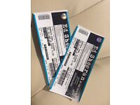 Selling 2 Ed Sheeran tickets at hampden Park Glasgow. Standing general admission. Open to offers.