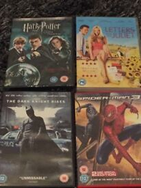 4 DVD's for £5