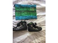Versace H&M Mens leather boots