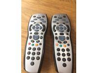 2x Used Sky Remotes