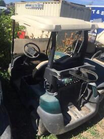 6x electric golf buggy's job lot
