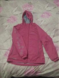 Waterproof campus ladies jacket size S