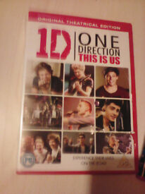 One Direction 'This Is Us' DVD