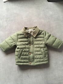 Next baby coat up to 3 months