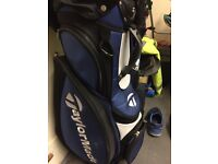 Taylor Made Bag & Golf trolley