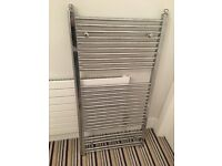 Chrome towel rail in excellent condition