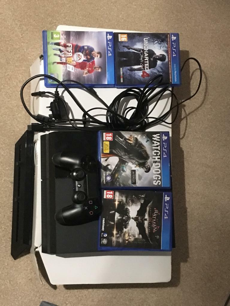 PS4- good condition