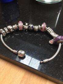 Pandora charms and bracelets-open to offers