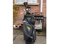 Set of Men's golf clubs - Taylor Made Irons with bag