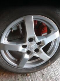 toyota wheel and tyre