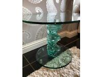 Stunning Glass Side Table £140