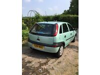 Economical,low insurance ideal first car, a lovely new shape corsa five dr with low miles & new mot