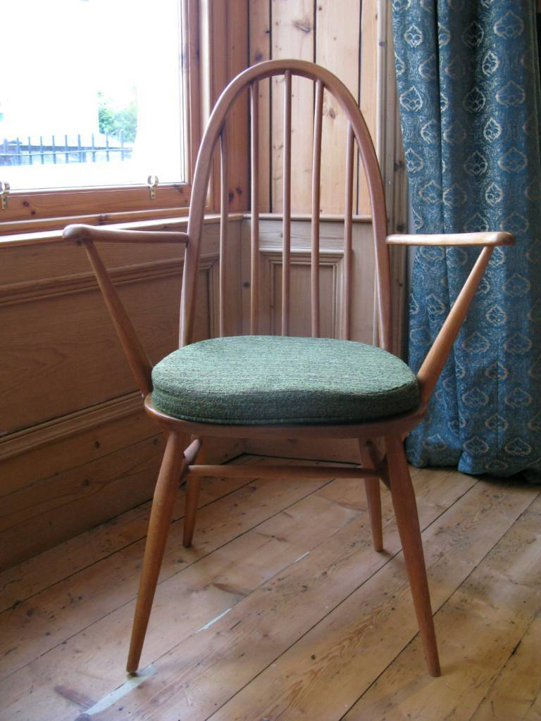 Ercol Windsor Chair With Cushion In Leith Walk