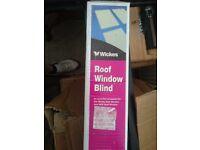 Roof window blind