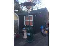 Large Patio Gas Heater 13 KW used 3 times