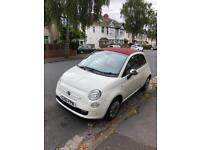 Fiat 500c convertible, full service history, low mileage