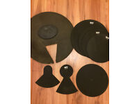 QT Drum Kit Silencer Pad Box Set. Rock Sizes 22/12/13/16/SD