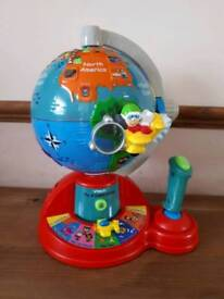 Vtech fly and learn globe great condition collection lordshill