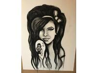 Bespoke Artist Portraits AMY WINEHOUSE Recent Work All Works Considered Prices Negotiable