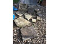 Yorkstone slabs 13pieces joblot