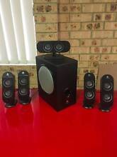 Logitech Computer Speakers - X 530 5.1 Surround Sound with S...