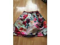 Ted Baker floral skirt size 1