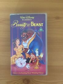 Beauty and the Beast 1991 original VHS tape