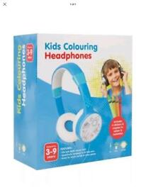Boys design your own colouring headphones