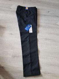 Brand new 11-12 black school trousers