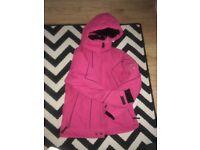 Womens/girls ski pink jacket size S, vgc