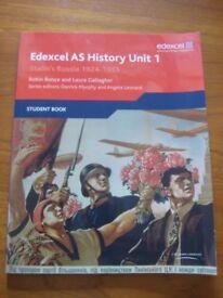 Edexcel AS History Unit 1 Student Book