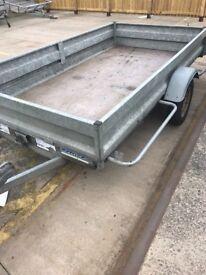 10 x5 single axle tilt bed trailer