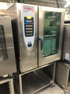 USED RATIONAL COMBI OVENS