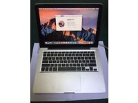 Apple MacBook Pro (Mid 2012) 320 GB HDD 3GB RAM Fully Working but faulty battery + sticky keyboard