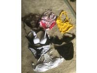 Size 12 ladies bikinis. Excellent condition. £5 each