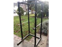 Power cage/ squat rack/ pull up bar