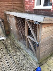 Dog Kennel and Run for sale