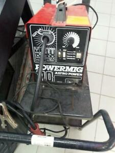 Astro Power  Mig Welder with trolly. We sell used Welders. (#44389) (1) CH628461
